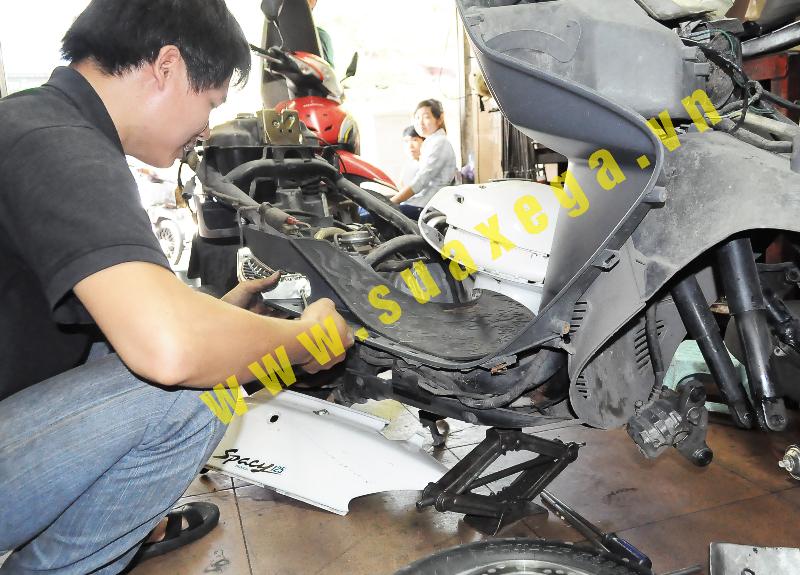 Lop SH Sửa chữa trung đại tu các loại xe máy